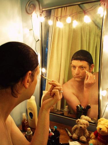 makeup light mirror