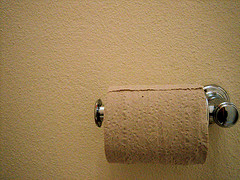 Accidentally flushed plastic toilet paper roll holder down toilet…what do I do?