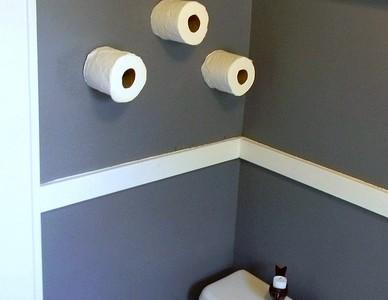 DIY Toilet Paper Storage Solution