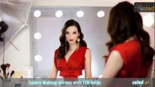 Makeup mirrors with LED lights – Hollywood mirror – Illuminated mirrors – SOLED Poland