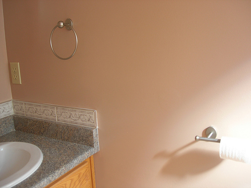 brushed nickel bathroom accessories