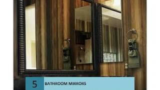 10 BATHROOM MIRRORS