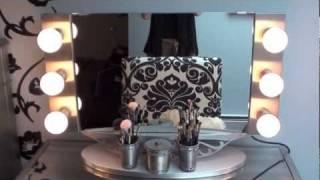Vanity Girl Hollywood Mirror review && Hayworth vanity