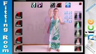 Virtual Dressing Space/Interactive Mirror Kinect