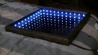 Make An L.E.D Illusion Mirror!