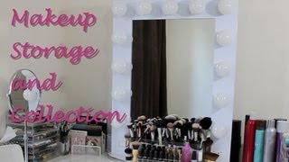 Makeup Storage and Collection 2013