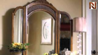 Hollywood Trifold Mirror by Illuminated Frame Inc.