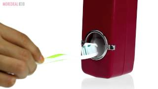 Moredeal.my – Automatic Toothpaste Squeezer Dispenser & Toothbrush Holder