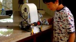 Lego mindstorms toilet paper dispenser!