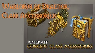 Warlords of Draenor: Class Cosmetic Accessories - QUIVERS! [WoD Artcraft 6.0 Alpha/Beta]