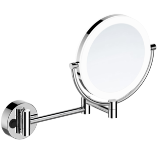 Double-side LED Lighted Makeup Mirror with PMMA Lampshade