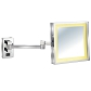 Wall-hung LED Cosmetic Rectangle Mirror