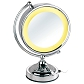 Freestanding Cosmetic Round Mirror