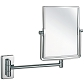 Wall-hung Square Magnifying Mirror